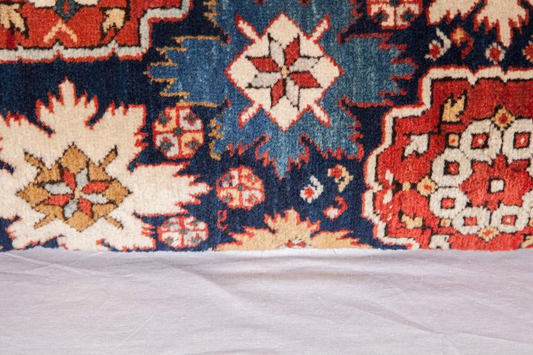Pillow Made Out of a 19th Century Caucasian Shrivan Rug Fragment In Good Condition For Sale In Istanbul, TR
