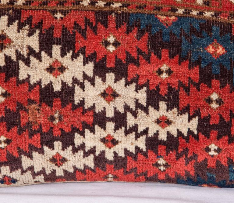 Woven Pillows Made Out of a 19th Century Turkmen Chodor Tribe Main Rug Fragment For Sale