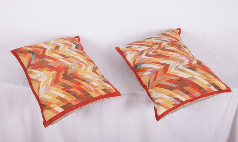 Contemporary Silk Kilim Pillows For Sale 4