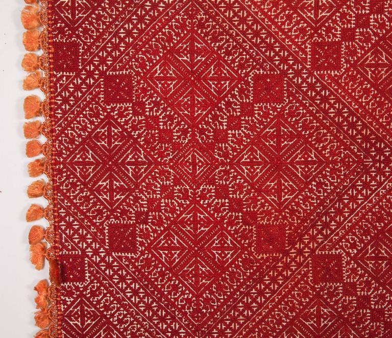 19th Century Antique Moroccan Fez Embroidery At 1stdibs