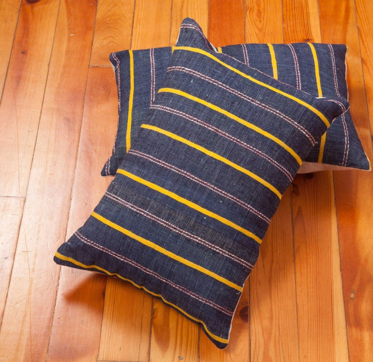 Pillow Cases Fashioned Out of an Mid-20th Century Anatolian Kilim For Sale at 1stdibs