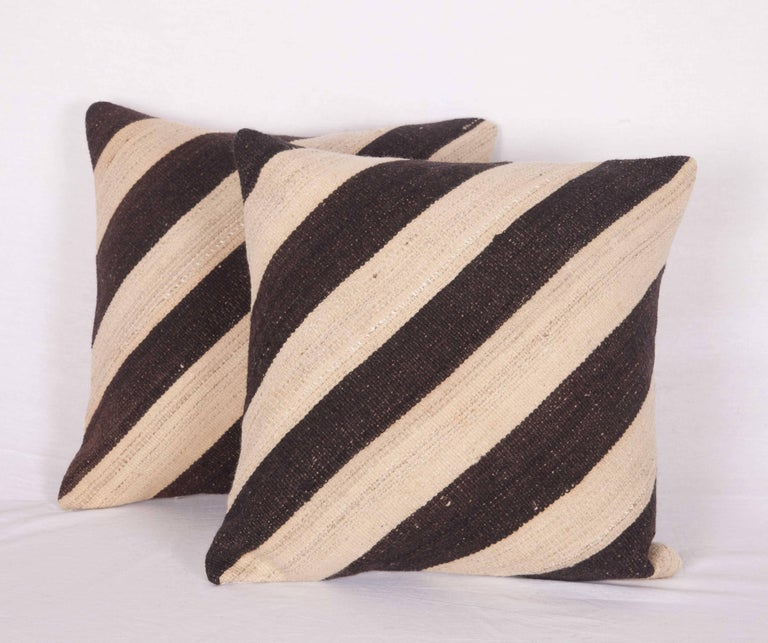 Pillow Cases Fashioned Out of an Mid-20th Century Anatolian Kilim at 1stdibs