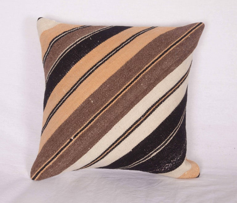 Pillows Made Out of an Anatolian Turkish Mid-20th Century Kilim For Sale at 1stdibs