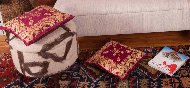 Silk Antique Ottoman Turkish Pillow Cases For Sale