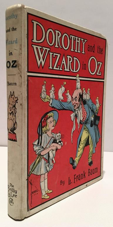 Vintage Set Of Four Wizard Of Oz Collection Books By Frank