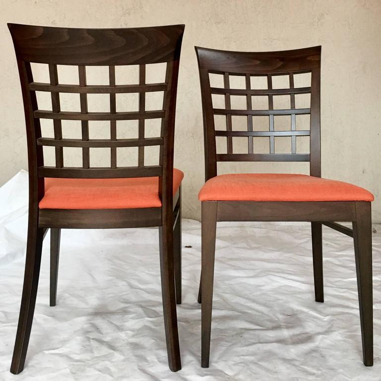 Modern italian set of six chairs by roche bobois for sale for Roche bobois italia