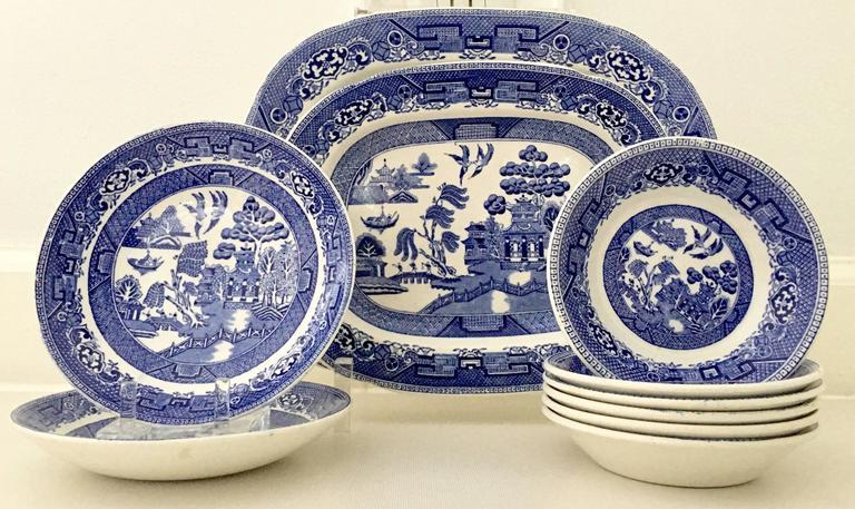 Vintage English-ridgeways ceramic dinnerware in the & Vintage English \
