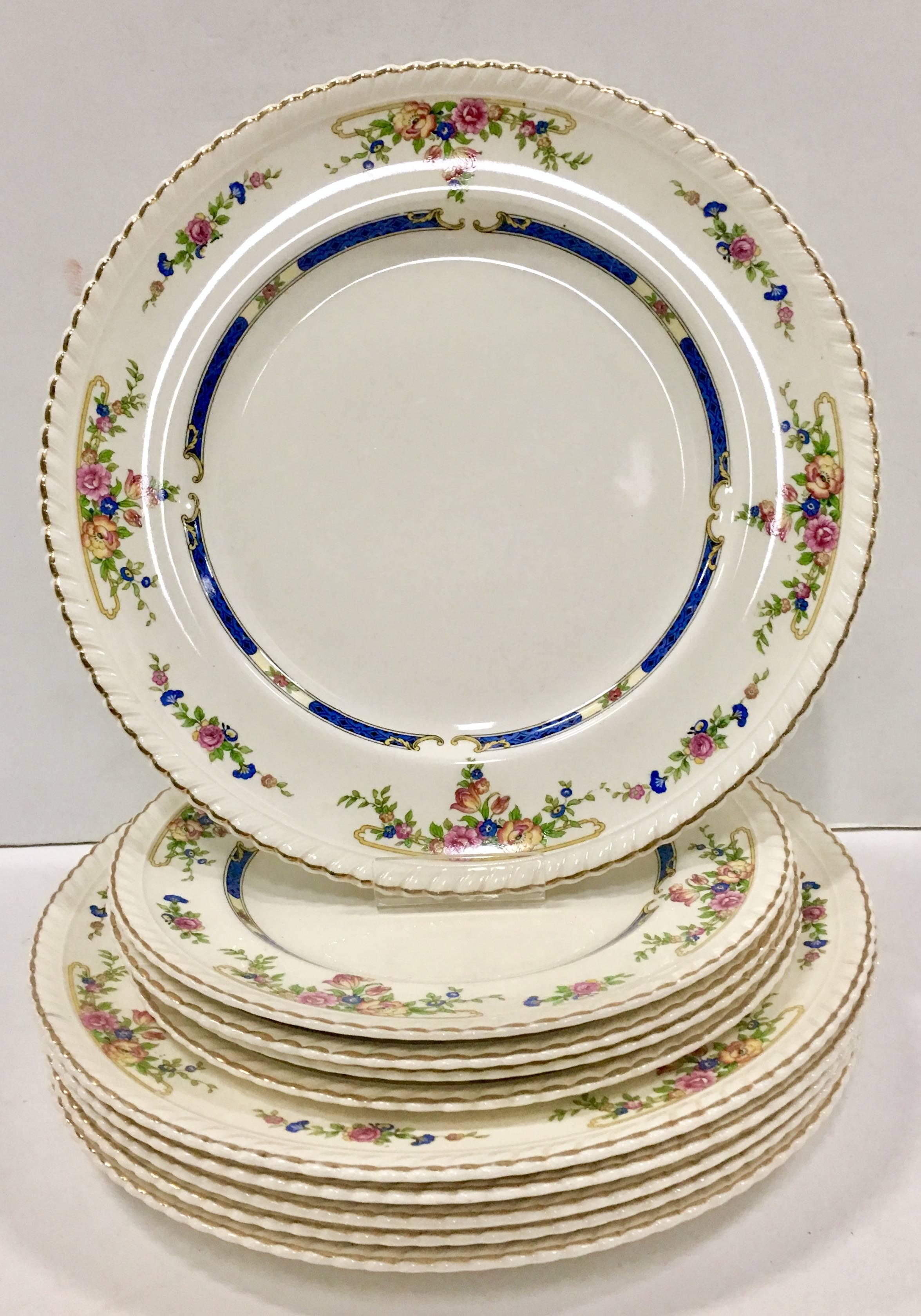 Antique English Porcelain Old English  Eastbourne  by Johnson Brothers S/21 For Sale at 1stdibs  sc 1 st  1stDibs & Antique English Porcelain Old English