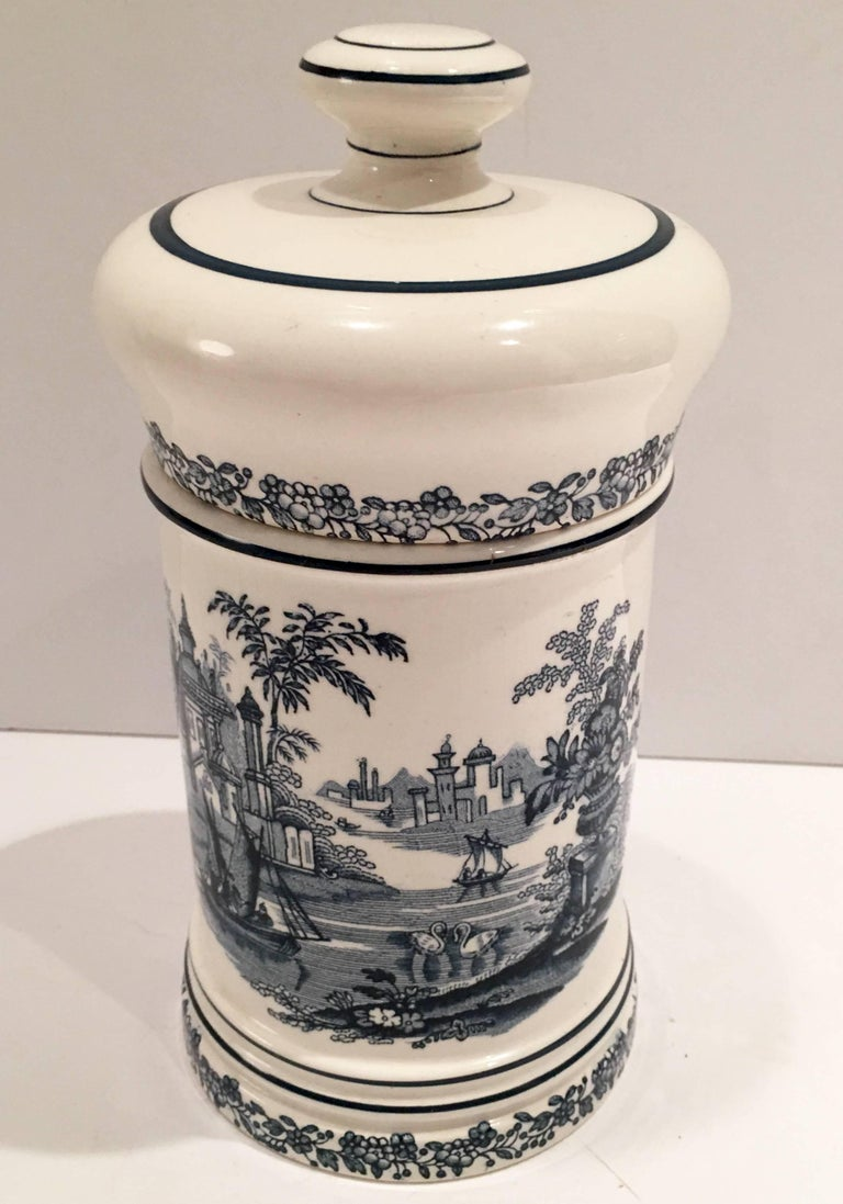 1930 S Spanish Ceramic Cigar Jar At 1stdibs