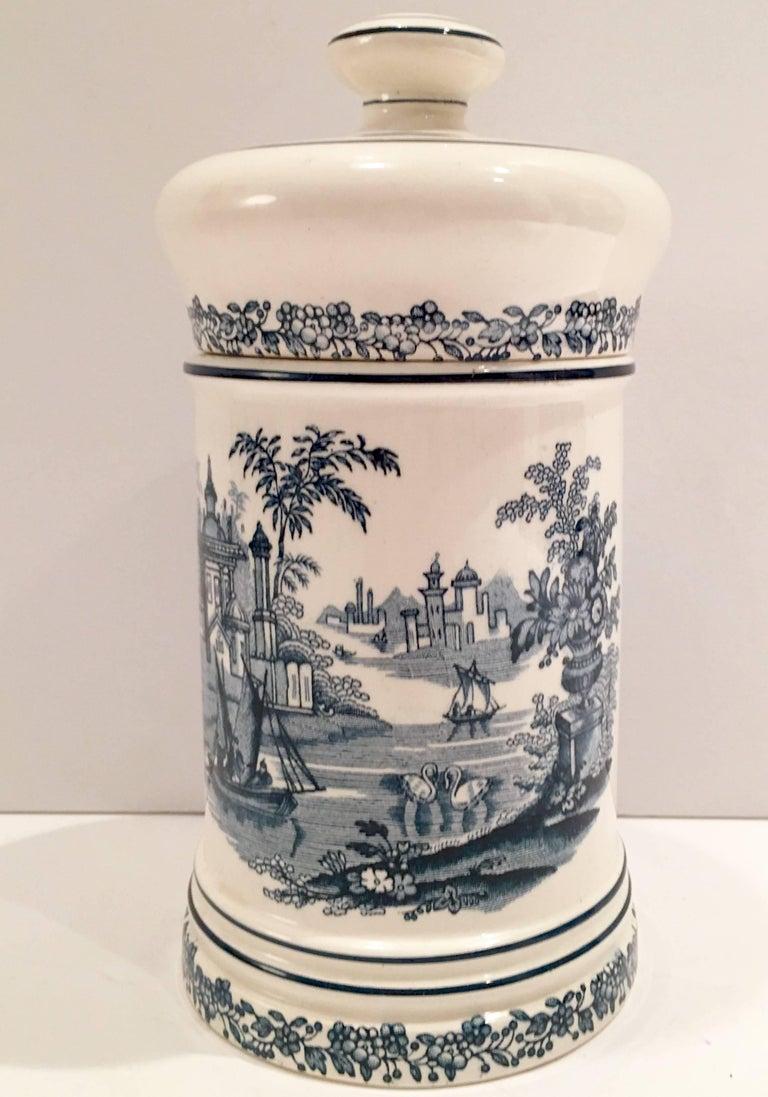1930 S Spanish Ceramic Cigar Jar At 1stdibs