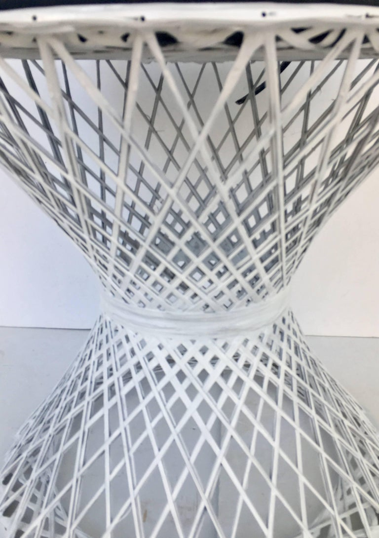 Fabric Mid-Century Modern Pair of Spun Fiberglass Slipper Chairs by Russell Woodard For Sale