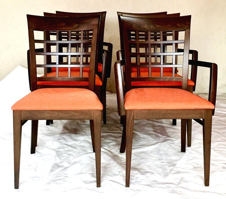 21st Century Italian Contemporary And Modern Upholstered Dining Chairs By Potocco Spa For Roche Bobois