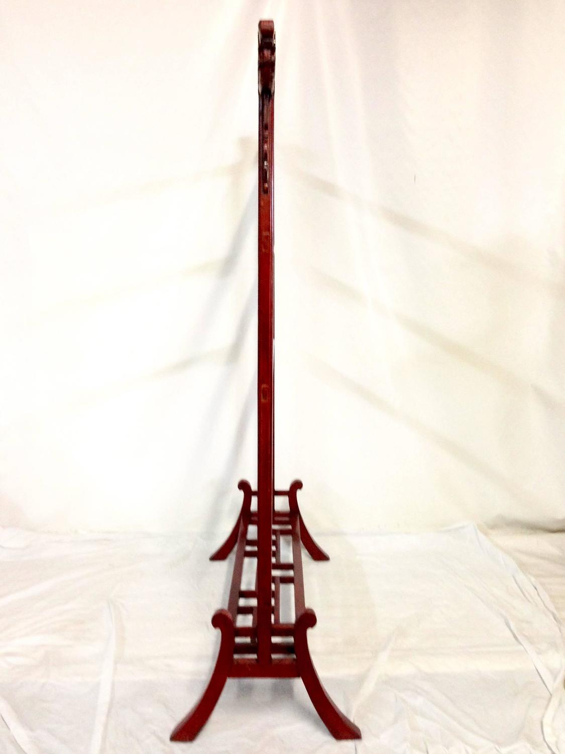 Antique mahogany chinese dragon garment rack at 1stdibs for Asian antiques west palm beach