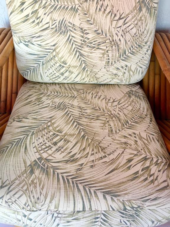 Paul Frankl Designed Rattan Quot Pretzel Quot Arm Lounge Chair And