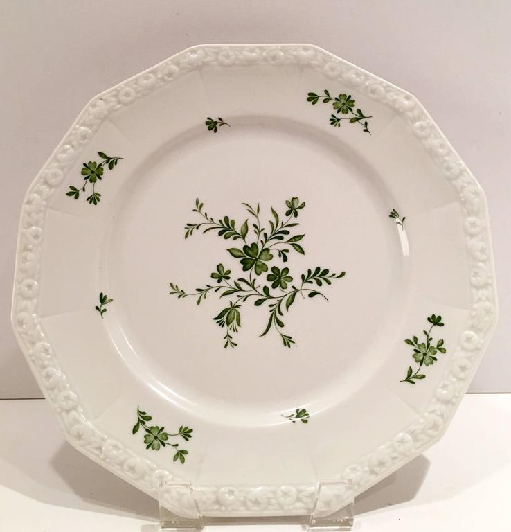 1940 s rosenthal germany maria green dinnerware s 11 for sale at 1stdibs. Black Bedroom Furniture Sets. Home Design Ideas