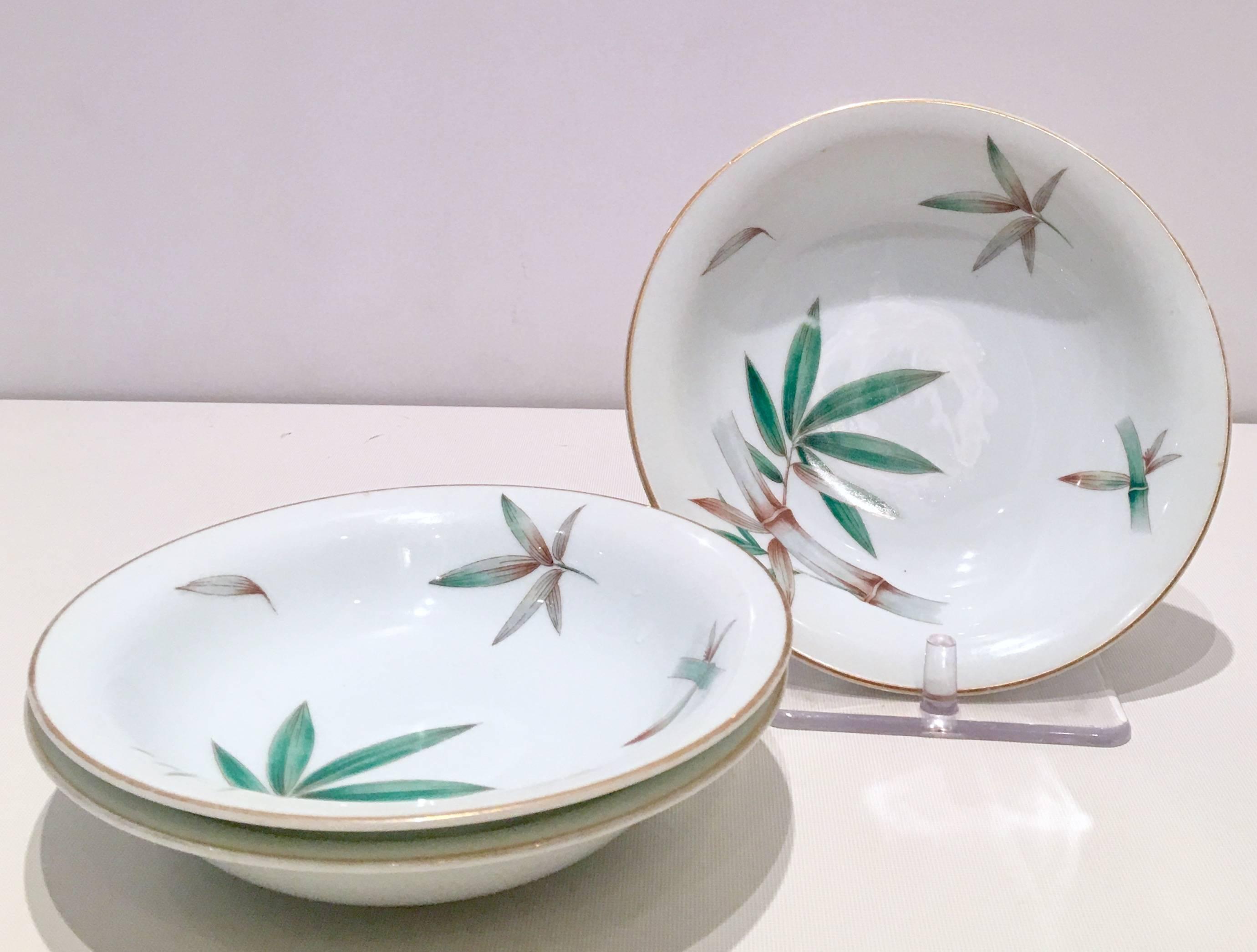 1950u0027S Japanese porcelain dinnerware in the  sc 1 st  1stDibs & Mid-Century Japanese Porcelain Dinnerware