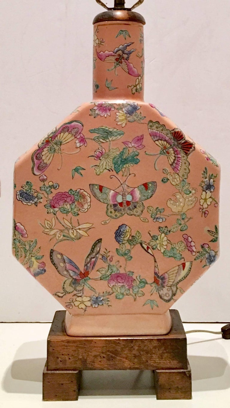 Chinese Export Antique Chinese Famille Porcelain Hand-Painted