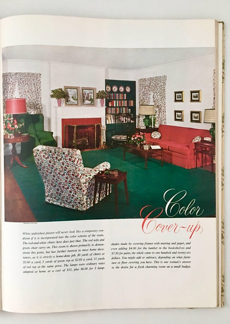 First Edition Mid Century Interior Design Books Set/2 For Sale 7