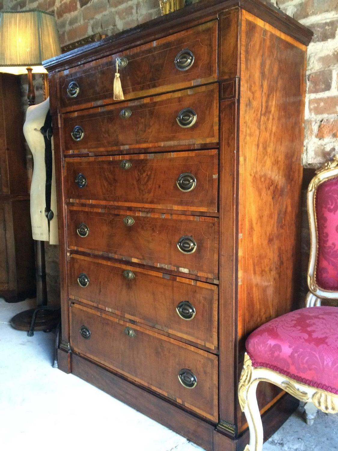 #A35C28 George III Antique Tallboy Chest Of Drawers Secretaire  with 1125x1500 px of Highly Rated Vintage Tallboy Chest Of Drawers 15001125 picture/photo @ avoidforclosure.info