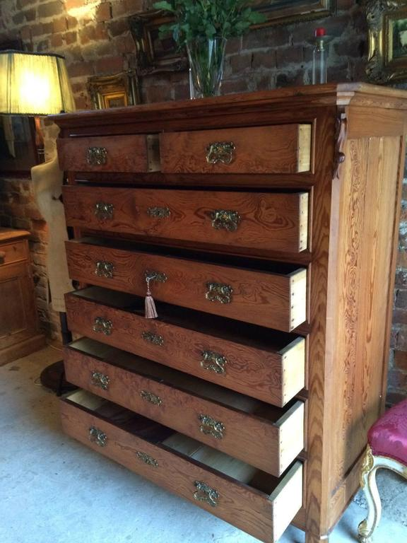 dresser chest drawer cherry drawers antique of mahogany shop empire or