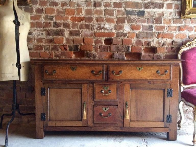 Antique 18th 19th Century Welsh Dresser Oak Cottage Rustic 2. Antique 18th 19th Century Welsh Dresser Oak Cottage Rustic at 1stdibs