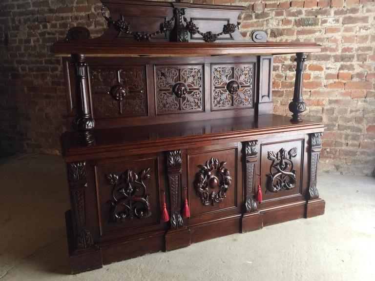 old sideboards for sale antique sideboard buffet oak 19th century 3652