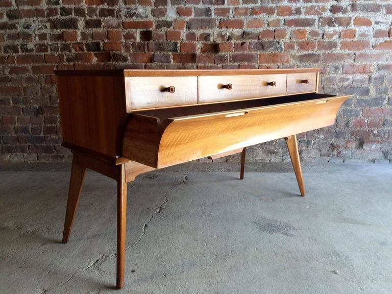 Vintage Mid Century Alfred Chest Of Drawers Dressing Table 1950s In Excellent Condition