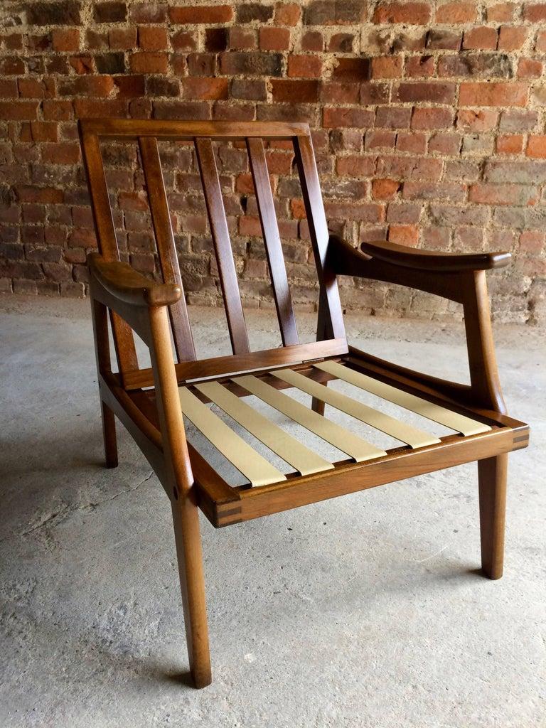 Mid-Century Lounge Chair Teak Vintage Danish Style by ...