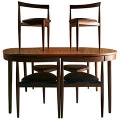 Midcentury Dinette Dining Table Designed Hans Olsen by Frem Rojl, Denmark, 1960s