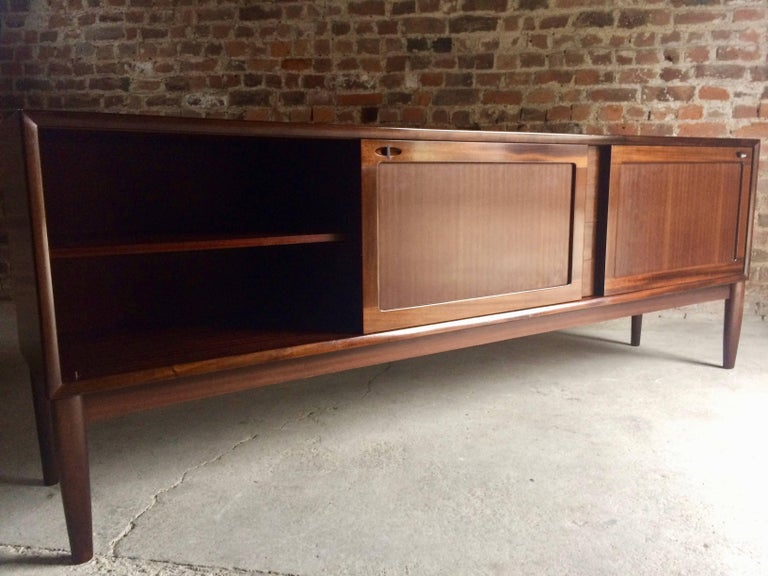 Bramin Teak Sideboard Credenza by H W Klein Danish Midcentury 1960s In Good Condition For Sale In Longdon, Tewkesbury