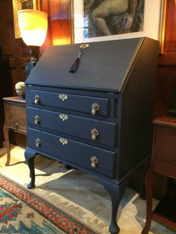 Antique Style Writing Bureau Shabby Chic Desk Writing
