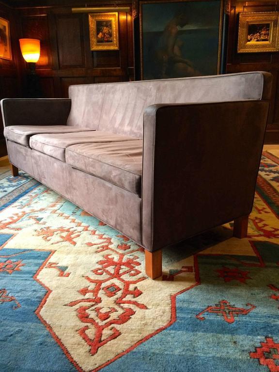 knoll studio krefeld three seat sofa settee ludwig mies. Black Bedroom Furniture Sets. Home Design Ideas