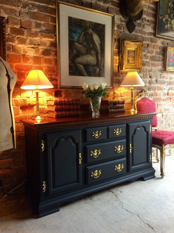 shabby chic sideboard dresser credenza buffet cupboard. Black Bedroom Furniture Sets. Home Design Ideas