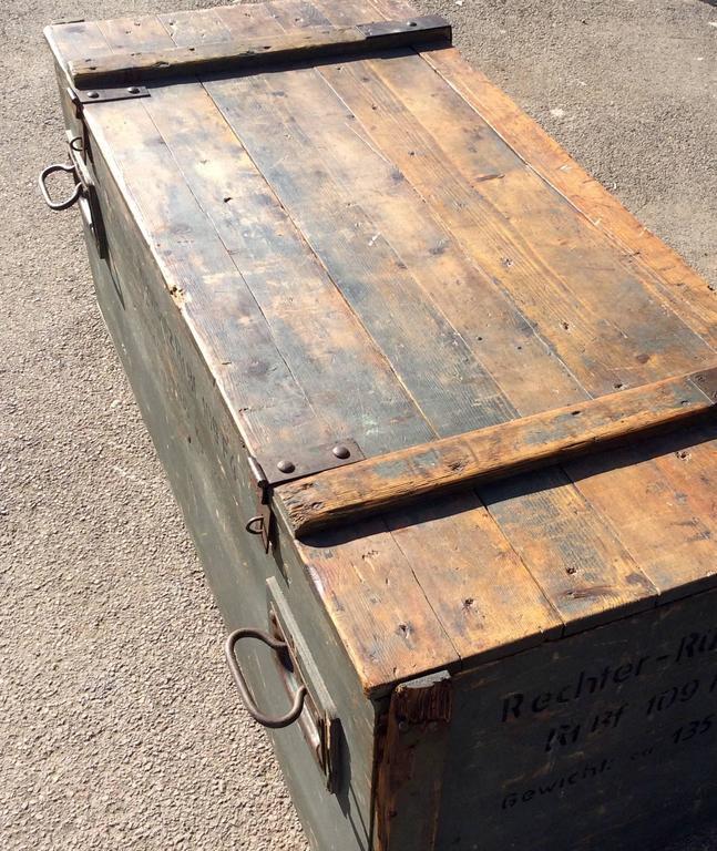 Messhachmit German Machine Gun Crate Trunk Ww2