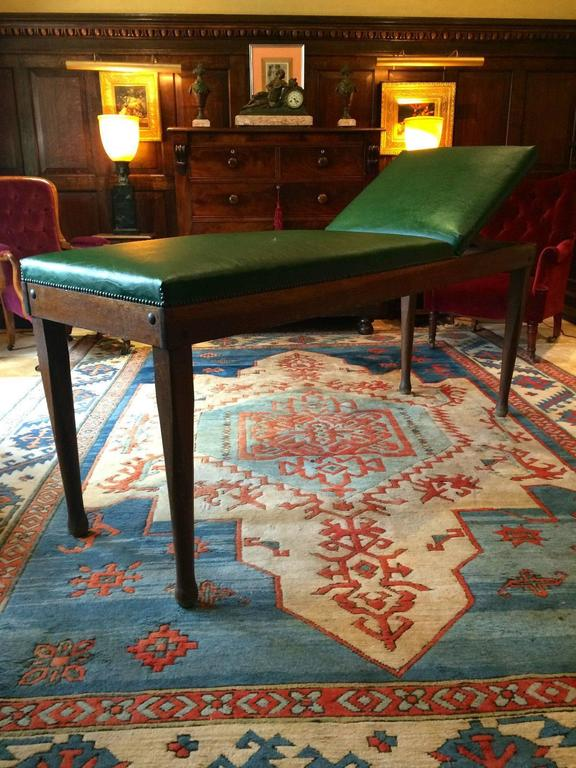 Antique Treatment Table Doctors Massage Solid Oak