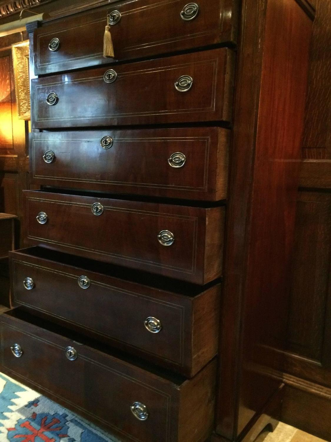 #B39718 George III Antique Mahogany Tallboy Chest Of Drawers  with 1125x1500 px of Highly Rated Vintage Tallboy Chest Of Drawers 15001125 picture/photo @ avoidforclosure.info