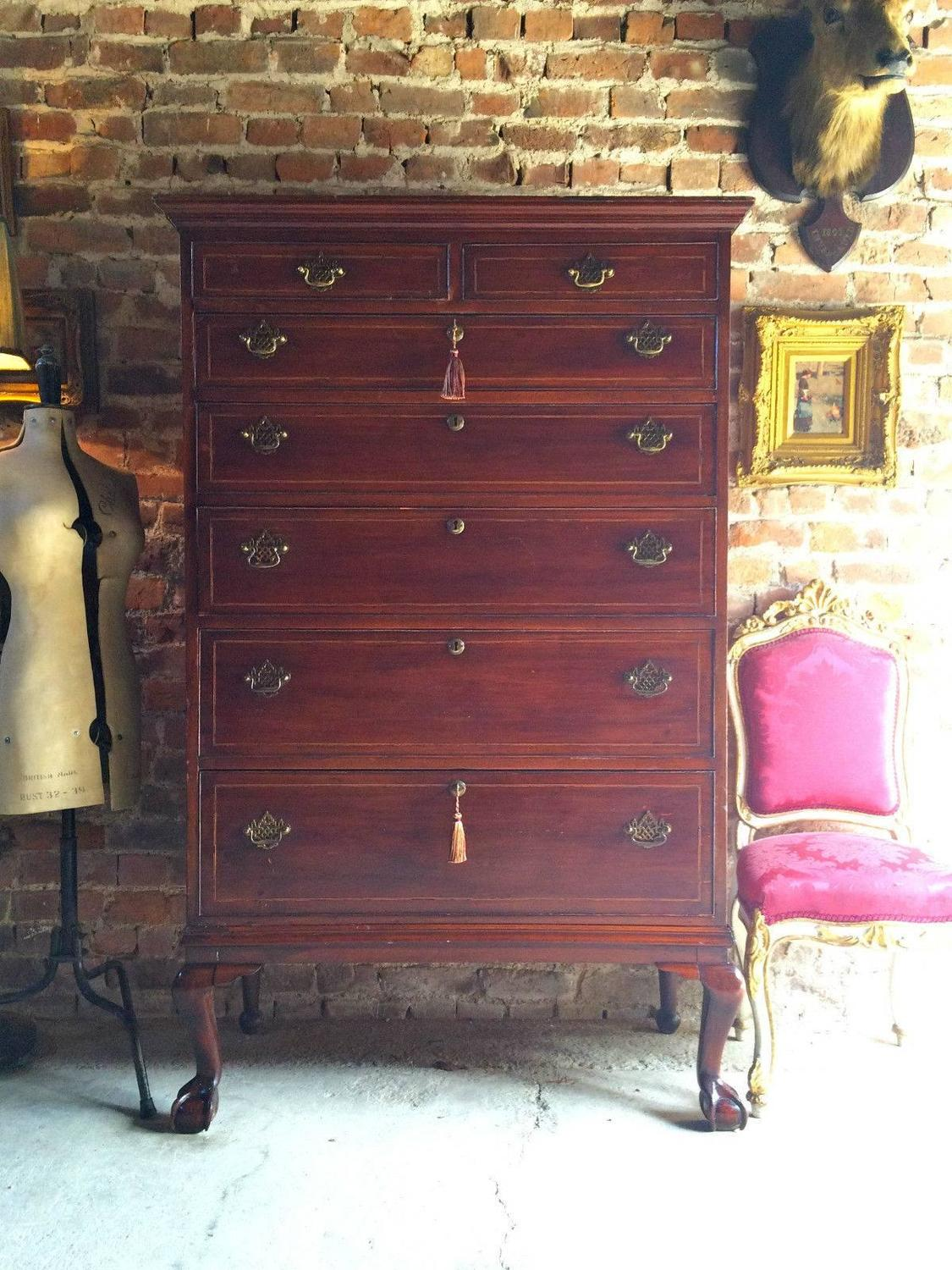 #C2096A Antique Tallboy Chest Of Drawers Dresser Mahogany 19th  with 1125x1500 px of Highly Rated Vintage Tallboy Chest Of Drawers 15001125 picture/photo @ avoidforclosure.info