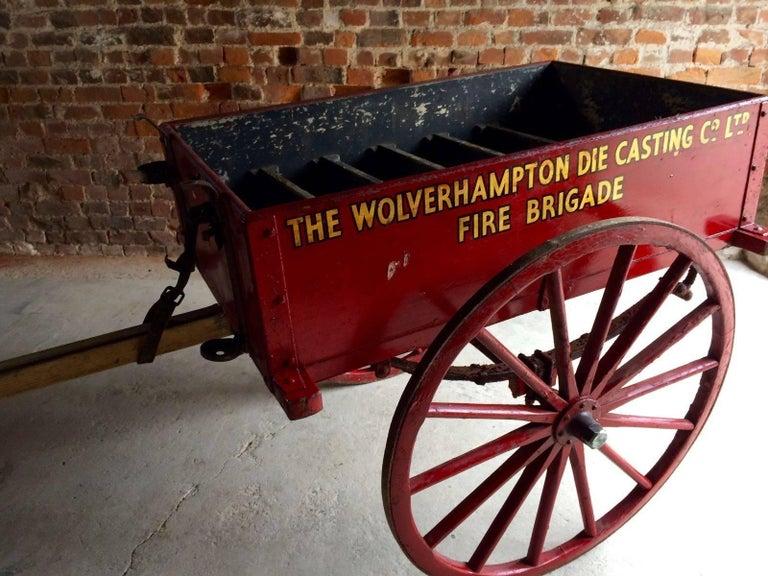 Antique Hand Cart Wolverhampton Die Casting Company