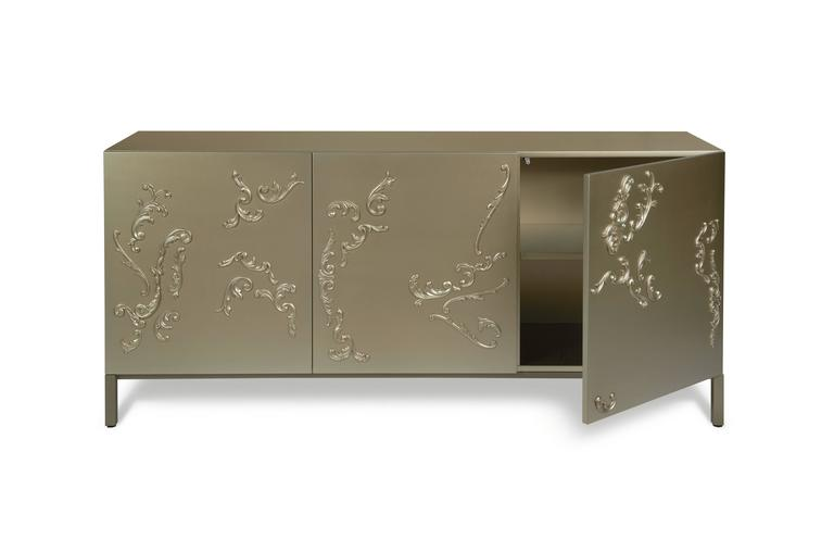 Lacquered French Decoration Cabinet by Sam Baron 2