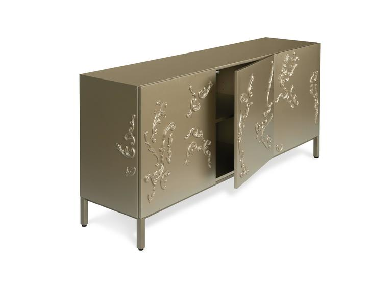 Lacquered French Decoration Cabinet by Sam Baron 3
