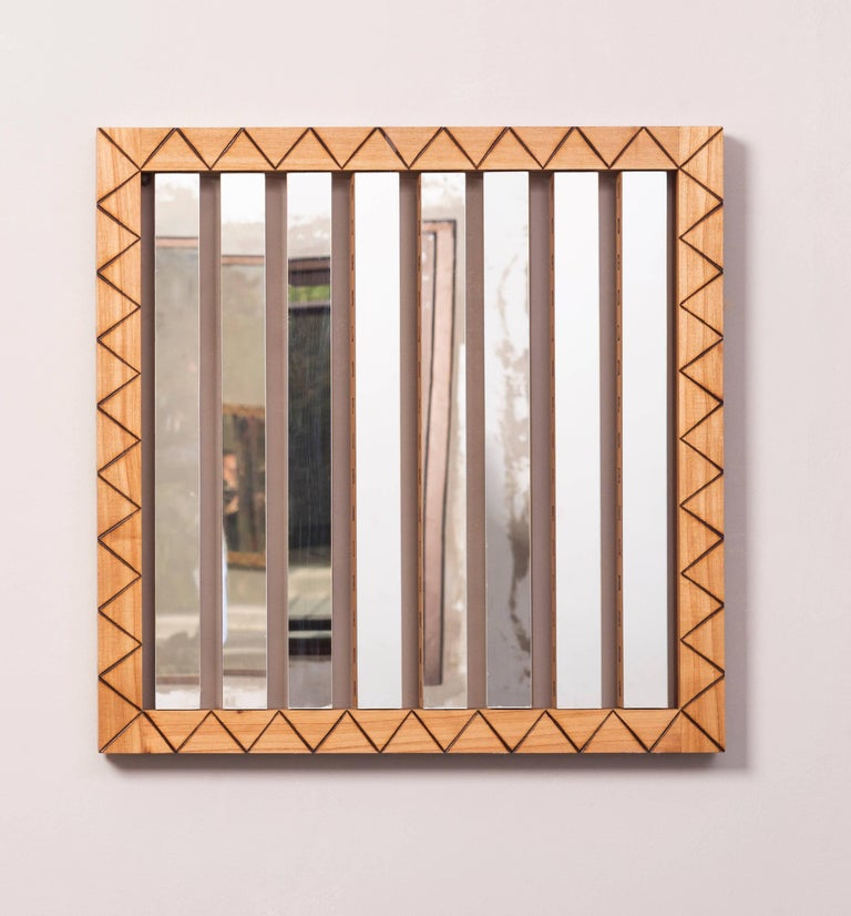 Contemporary Tattooed Digital Mirror by Pedro Barrail For Sale