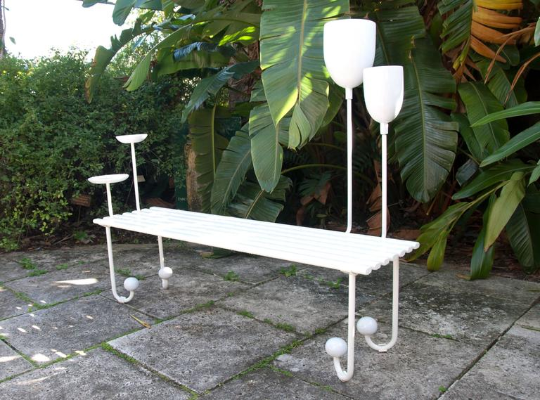Sam Baron Outdoor La Marie-Lou Bench 4