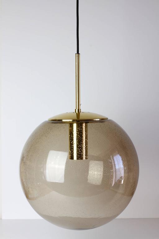 Smoked Gl Globe Pendant Lights