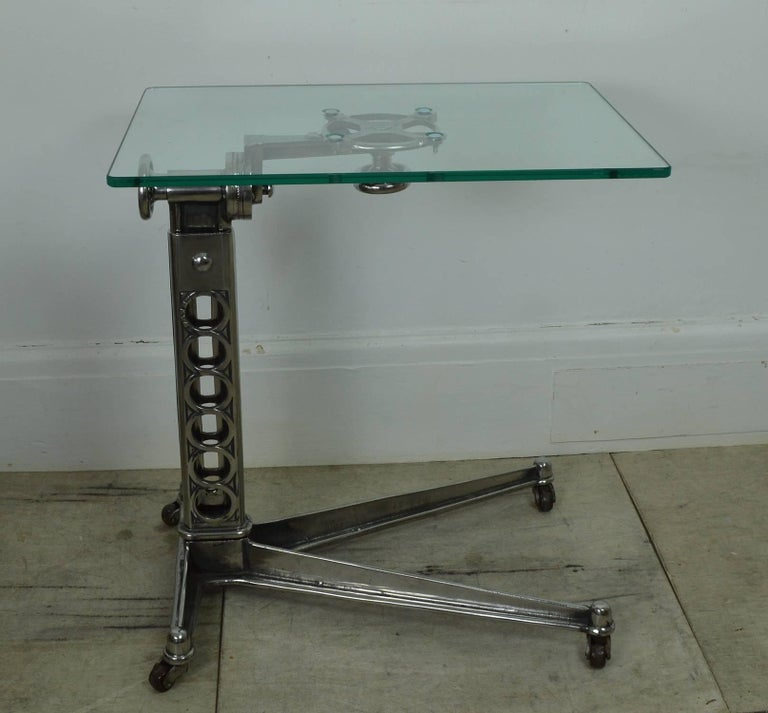 Other Vintage Industrial Adjustable High to Low Work Table, English, 1920s