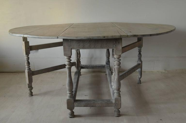 large antique limed oak round oval dining table century for 8 size room with butterfly leaf and chairs uk
