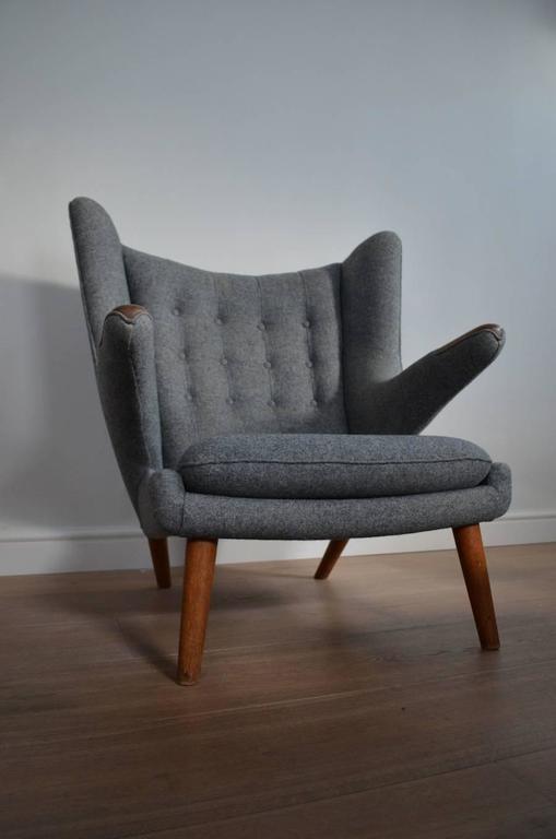 Brilliant Hans J Wegner Oak Ap19 Papa Bear Chair Ibusinesslaw Wood Chair Design Ideas Ibusinesslaworg