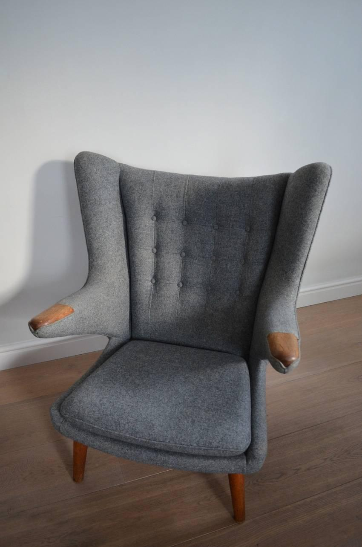 Hans J Wegner Oak Ap19 Papa Bear Chair For Sale At 1stdibs