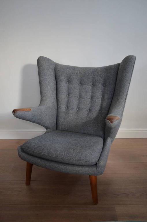 Remarkable Hans J Wegner Oak Ap19 Papa Bear Chair Ibusinesslaw Wood Chair Design Ideas Ibusinesslaworg