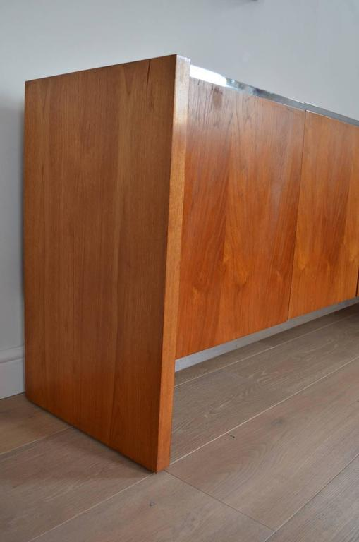 Glass Richard Young for Merrow Associates Sideboard For Sale