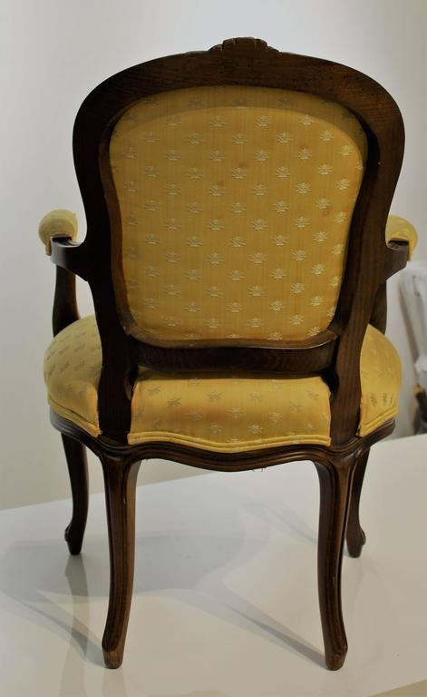 Mid 20th century country french child 39 s cabriolet armchair for Mid 20th century furniture